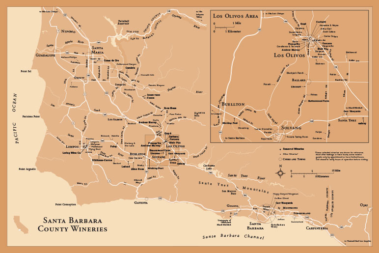 Central Coast Edition - The California Directory of Fine Wineries on